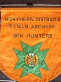 The old Northern District Field Archers Banner